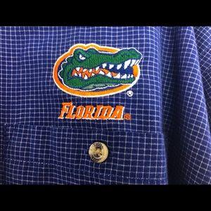 University  Florida Gators XL button down Antigua